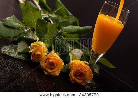 Eggnog And Roses