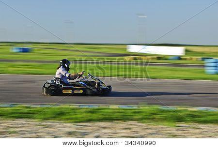 Karting racer