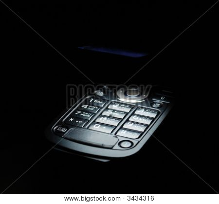 Vista magnífica de telefone celular