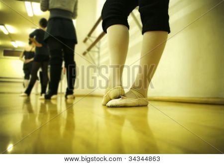 ballet foots