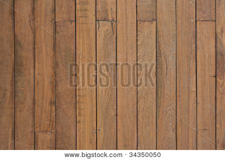 Brown wood background textured pattern plank wall