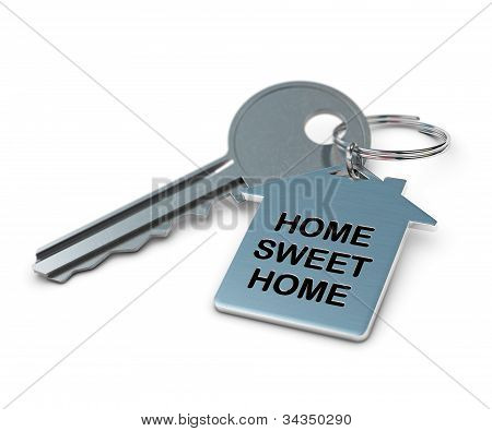 home sweet home real estate concept