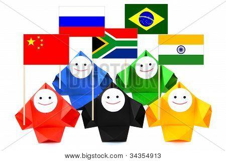 International relations and BRICS metaphor