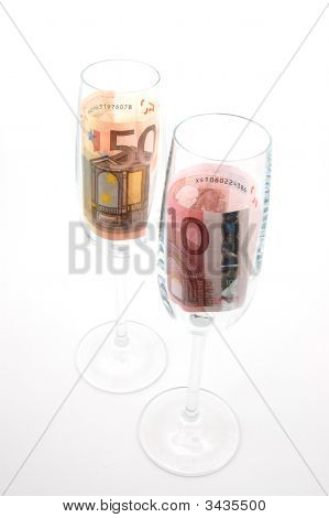 Money In Glass
