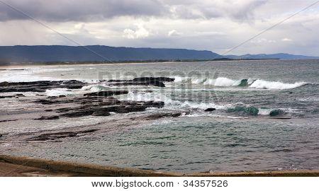 Rocky Coast, Wollongong, Australia
