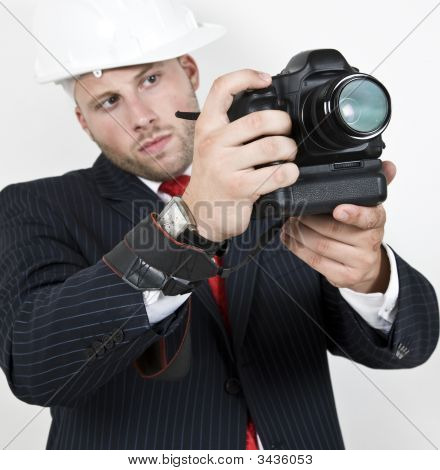 Man Doing Photography