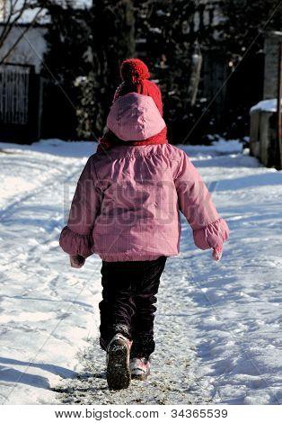 Child In Wintertime