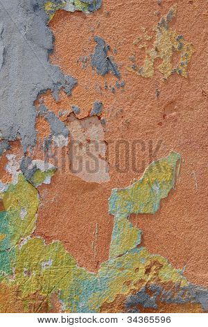 Old speckled wall texture background.