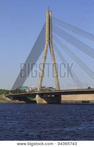 Vansu Tilts Riga Bridge