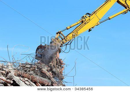 Grúa de demolición
