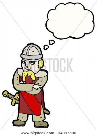 medieval warrior cartoon