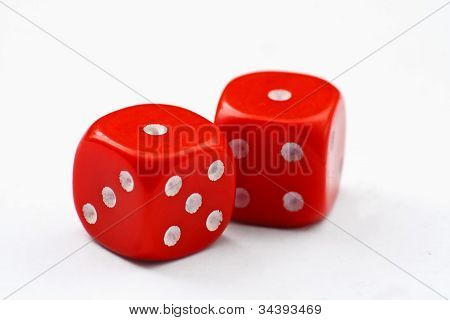 Red Dice Snake Eyes