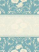 stock photo of wedding invitation  - Ornate background - JPG