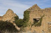 Old Town Of Las Menas Of Seron, Abandoned Mining Town Of Las Menas Of Seron, Ghost Town, Almeria, An poster