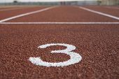 Track And Running, Running Track For The Athletes Background, Athlete Track Or Running Track poster