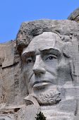 picture of mount rushmore national memorial  - Closeup of former U - JPG