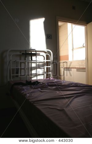 Empty Hospital Bed  Psychiatric