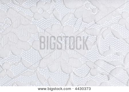 White Lace On White