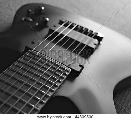 Seven String Guitar