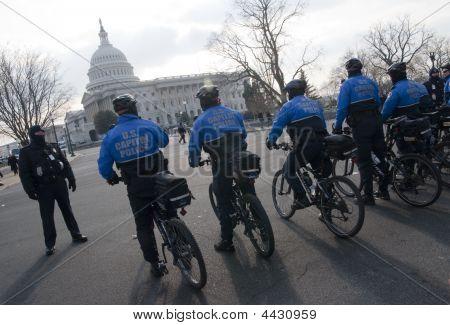 U.s. Capitol Bike Police