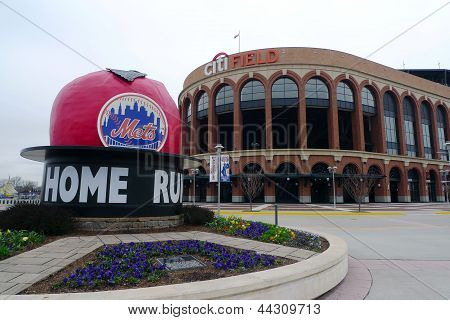 Citi Field, home of major league baseball team the New York Mets in Flushing, NY