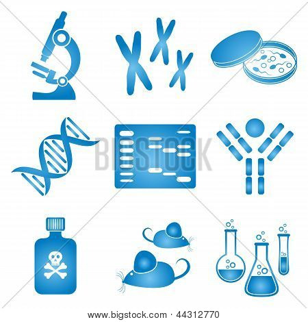 Biologie-Science-Icons