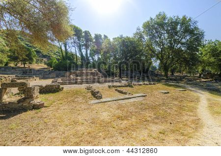 Ancient Site Of Olympia, Greece
