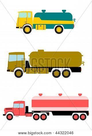 Tanker Truck.