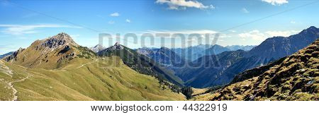 The Allgaeu Alps in Tyrol, Austria