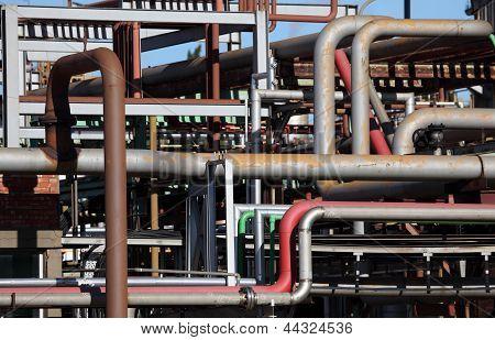 Tubos de refinería