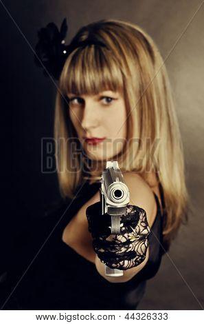 Gangster woman