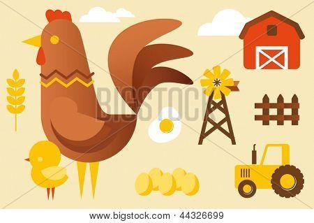 Chicken farm collection