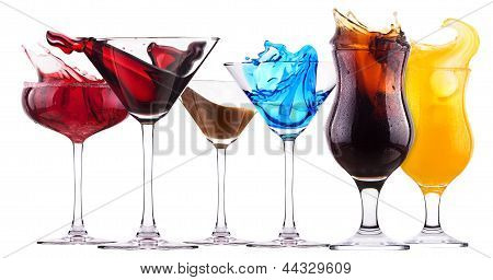 Alcoholic Cocktail Set  Splash