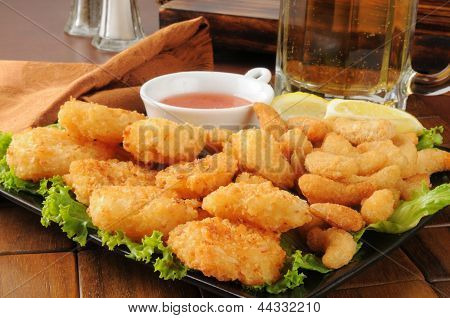 Coconut Shrimp And Beer