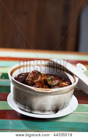 pig trotter ,chinese food