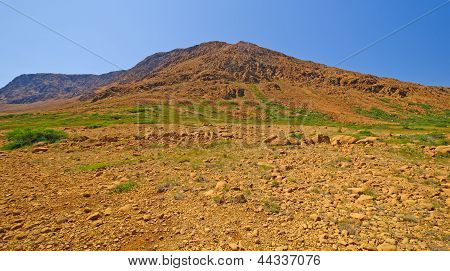 Volcanic Landscape In The Wilderness