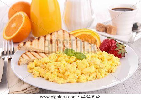 Frühstück, Rührei