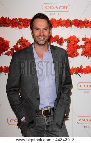 LOS ANGELES - APR 10:  Barry Watson arrives at the Coach's 3rd Annual Evening of Cocktails and Shopping at the Bad Robot on April 10, 2013 in Santa Monica, CA