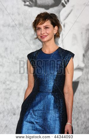 LOS ANGELES - APR 9:  Calista Flockhart arrives at the