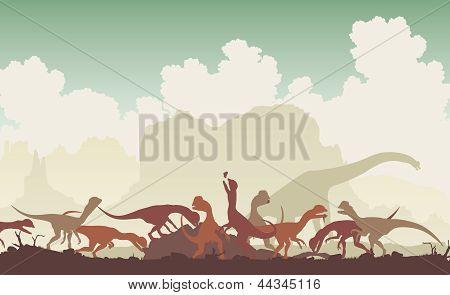 Dinosaur Feast