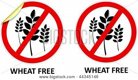 Wheat Free Icons