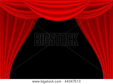 Theater Draped Curtain