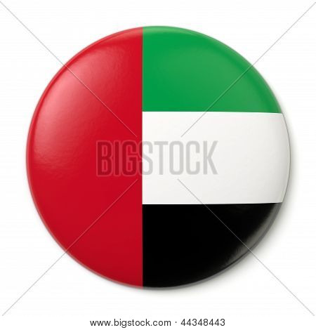 United Arab Emirates Pin-back