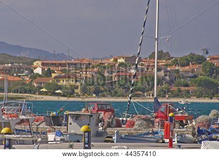 Golfo Aranci port - Sardinia, Italy