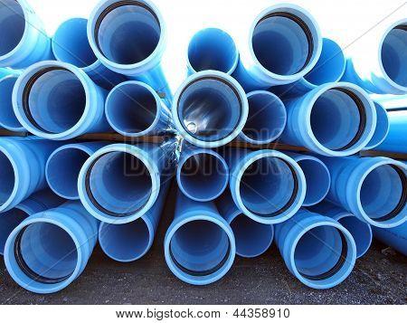 Blue Pvc
