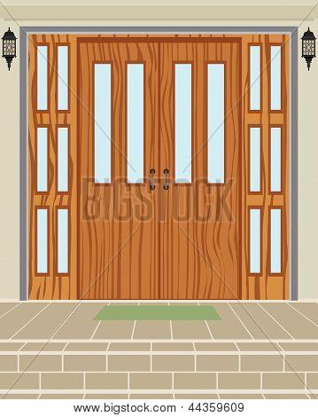 Exterior House Door