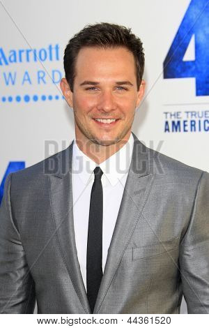 LOS ANGELES - APR 9: Ryan Merriman at the Los Angeles Premiere of '42' at TCL Chinese Theater on April 9, 2013 in Los Angeles, California