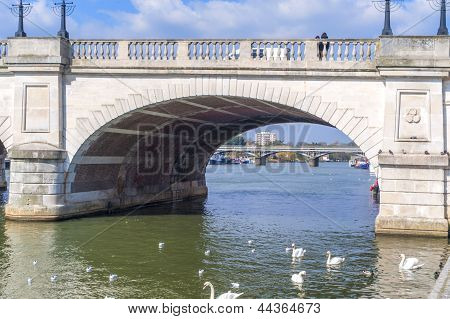 Bridge Across The Thames