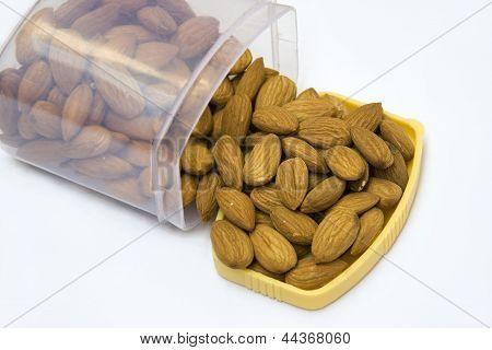 Boxful Of Almonds