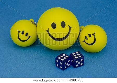 Family Of Happy Smileys
